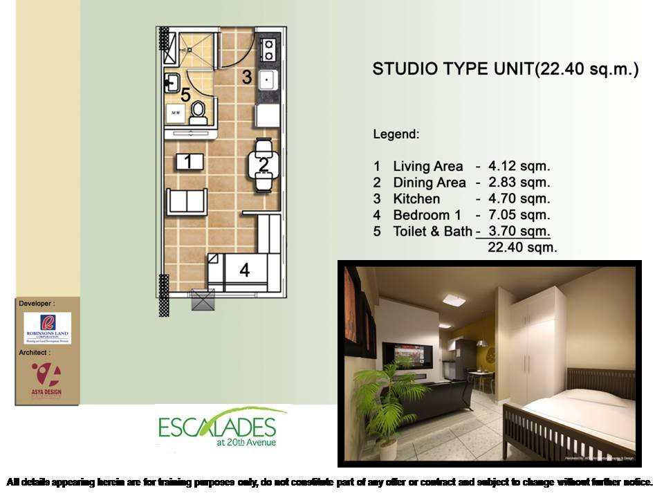 Unit Layout Robinsons Communities Condo Ortigas